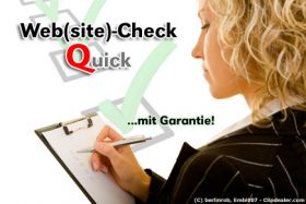 "Website-Check ""Quick"" für Ihre Homepage"