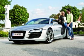 Romantik, Genuss & 430 PS AUDI R8 Cabrio