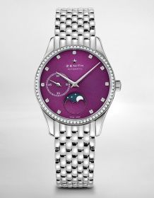 Zenith Elite Lady Ultra Thin Puple
