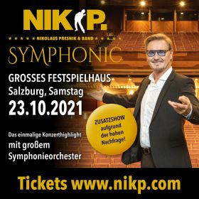 Konzert NIK P. & Band (4 Tickets)