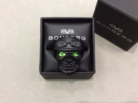 Bomberg Ring Skully Rider
